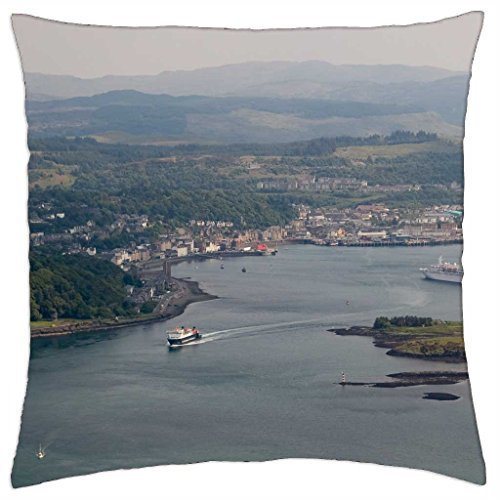 """Scotland -Oban - Throw Pillow Cover Case (16"""" x 16"""") for sale  Delivered anywhere in Canada"""