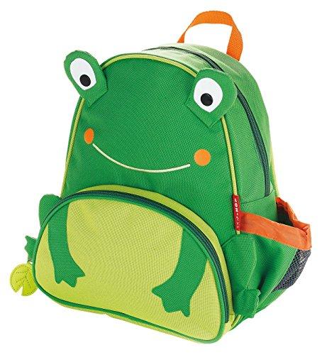 Skip Hop Zoo Little Kid and Toddler Backpack, Floyd Frog