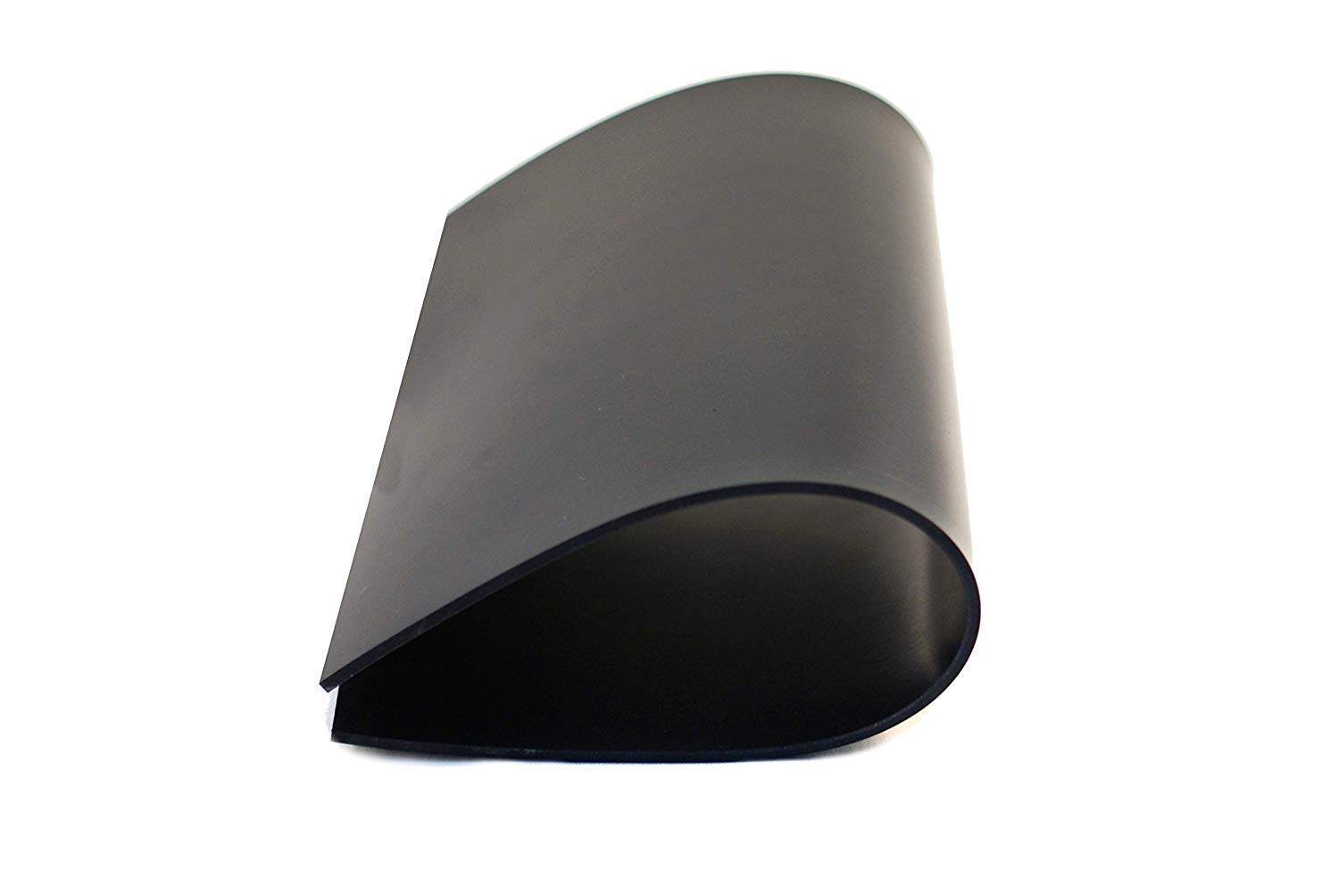 Black Neoprene Rubber Sheet 3mm Thick Size A4 297mm x 210mm