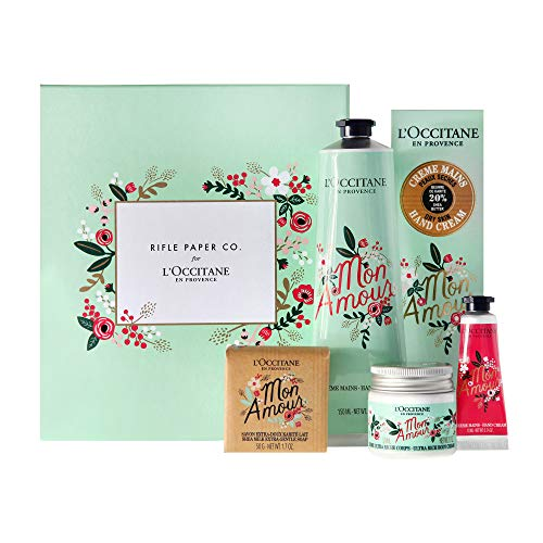 L'Occitane Rifle Paper Co. Shea Butter Favorites Collection, Limited Edition