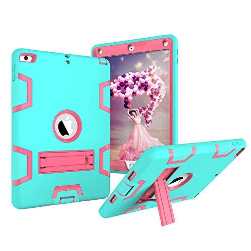 [해외]iPad 9.7 케이스 Ipad 20182017 케이스 Ipad 65 세대 케이스 높은 충격 하이브리드 드롭 증거 갑옷 수비수 보호 케이스 내장 새로운 iPad 9.7 인치 (A1893A1822) / iPad 9.7 CaseiPad 20182017 CaseiPad 6th5th Generation Case High Impact Hybrid ...