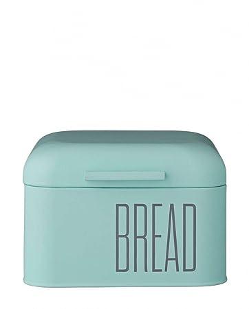Brotkasten Klein bloomingville brotkasten klein bread mintgrün metall amazon de