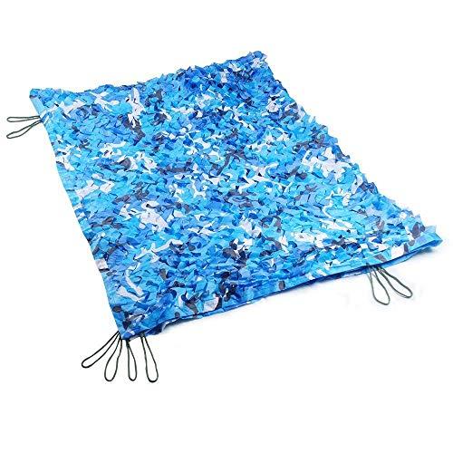 Camo Netting für Kinder, Ocean Marine Blau Camouflag Net, erhöhen Sie die Verstärkung Net, geeignet für Army Shade Military Jagd Schießstand Camping Outdoor ausblenden bedeckt Auto Garten Dekoration A