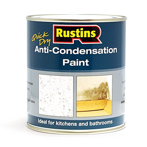 Rustins Quick Dry Anti-Condensation Paint 500ml Matt White