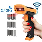 1D Wireless & Wired Automatic Fast Laser Barcode Scanner 2.4GHz wireless and USB cable connection 2.4G wireless communication (1D Handheld Wired Style) Easy carry highly sensitive