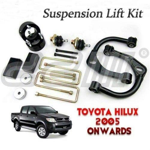 3 inch Up Suspension Lift Kit Suit Toyota Hilux IFS Vigo SR5 D4D 4x4 05-14 4WD