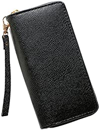 Womens Handbag Wallets Women Patent Leather Wallets Fashion Clutch Zipper Evening Bag Handbag Solid Color on Sale Clearance