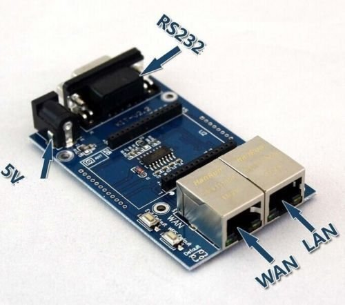 HLK-RM04 UART to WIFI Serial Port to Wifi Module Test Base ()