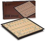 Yellow Mountain Imports Shogi Japanese Chess Magnetic Travel Game Set - 9.75-Inch