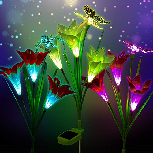 Solar Accent Lighting Butterfly