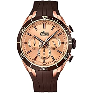 Mens Watch - LOTUS - Silicone Band - Chronographe - 18193/2