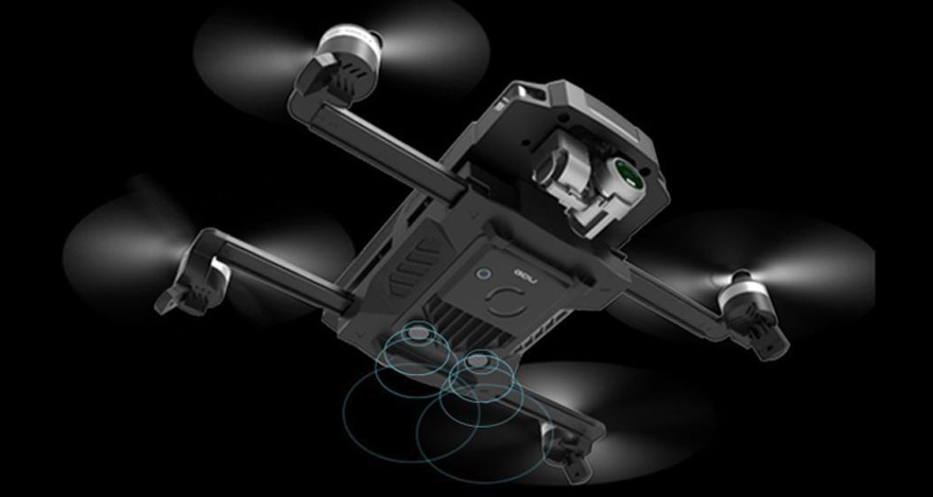 Dreamyth GDU O2 Drone Folding Quadrocopter with 4K HD Camera Live View System GPS&GLONASS (black) by Dreamyth