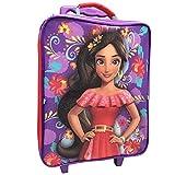 Disney Girls' Elena 3pc Luggage Set, Purple