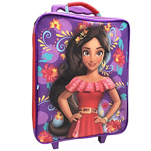 Disney Girls' Elena 3pc Luggage Set, Purple