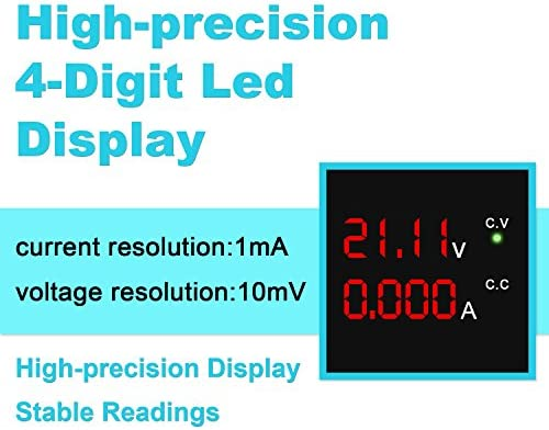 wanptek DC Power Supply Variable 30V 10A 4-Digit LED Display Upgraded Version Precision Adjustable DC Bench Power Supply DC Regulated Power Supply with 2 Alligator Clip Leads Tianjin Ruimiou Commercial /& Trading Co Ltd.