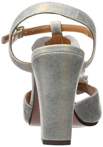 Chie Mihara Aubo, Sandalias con Tira a T para Mujer Or (cyprus bronce)