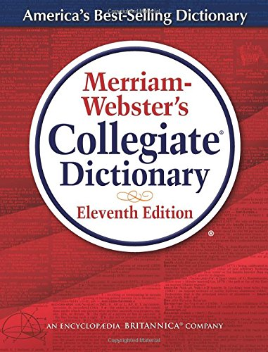 Merriam-Webster's Collegiate Dictionary cover