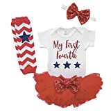 Baby Girl First 4th of July Outfit 4th of July Clothes for Girls