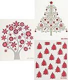 Swedish Dishcloth - Set of 3 Holiday Christmas