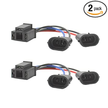HoldCY H4 to H9/H11 Wire Harness Adapter - Hi/Lo Dual Beam Headlight on harley davidson wiring connectors, piaggio wiring harness, harley chopper wiring harness, harley wiring diagram for dummies, cobra wiring harness, columbia wiring harness, harley davidson stereo wiring diagram, mitsubishi wiring harness, harley softail wiring harness, harley wiring harness diagram, harley sportster wiring harness, harley davidson stator wiring, harley shovelhead wiring harness, royal enfield wiring harness, harley davidson wiring color code, harley davidson speaker wiring, harley wiring harness kits, motorcycle wiring harness, harley davidson trailer wiring diagram, mercury wiring harness,