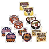 Fun Express Temporary Basketball Tattoos (12 Dozen)