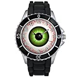 Evil Eye Unisex design watch with silicone band