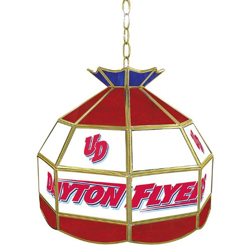NCAA University of Dayton Tiffany Gameroom Lamp, 16'' by Trademark Gameroom