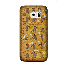 Avatar: The Last Airbender Anime TPU Material Phone Case For Samsung Galaxy S6 Edge Cover
