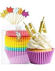 Katbite Silicone Cupcake Baking Cups
