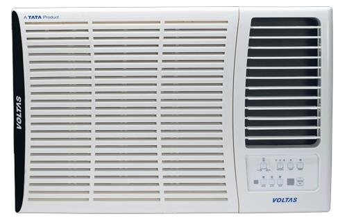 Voltas 183 DY Delux Y Series Window AC (1.5 Ton, 2 Star Rating, White, Copper)