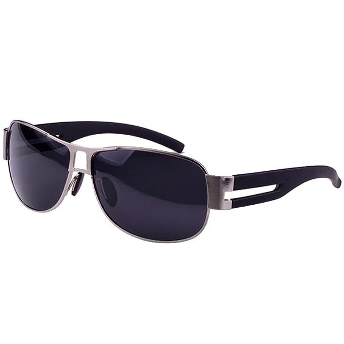 Leben - Gafas de sol - para hombre gris: Amazon.es: Ropa y ...
