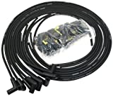 PerTronix 808290 Flame-Thrower Black 8mm Universal 90 Degree Spark Plug Wire for 8 Cylinder