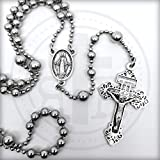 Strong Silver Military Service Combat Rosary