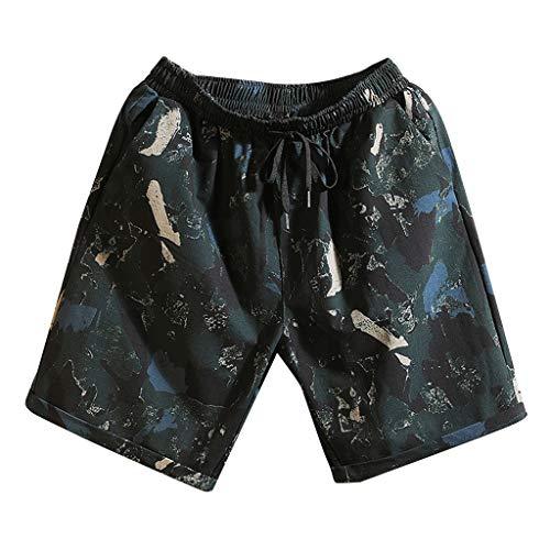 Fashion Short Mens Swim Trunks Boardshorts Quick Dry Swimwear with Mesh Lining/Pockets