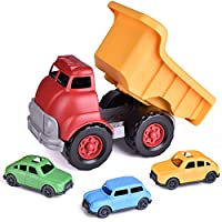 Dump Truck Vehicle Toy, 3 Pack Mini Vehicle Included for Kids Gifts