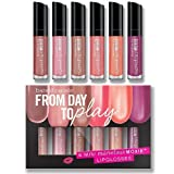 Bare Escentuals BareMinerals From Day to Play - Set of 6 Mini Marvelous Moxie Lipglosses