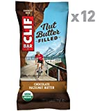 CLIF Nut Butter Filled - Organic Energy Bar - Chocolate Hazelnut Butter - (1.76 Ounce Protein Snack Bar, 12 Count)