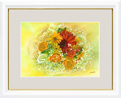 【大】洋額-幸せのブーケ黄色の花束/洋美(ようび) B00PU0DTDU