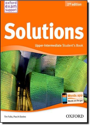 Solutions. Upper intermediate. Student's book. Per le Scuole superiori