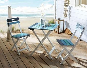 Kasandria® Gartenmöbel-Set 3-tlg. Büsum | Tisch und Stühle ...