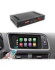 Carlinkit Wireless Carplay Android Auto Receiver Box for Audi A3/A4/A5/A6/A7/A8/Q5/Q7/S5 (09-18) Original Screen Stereo Upgrade with iOS 12