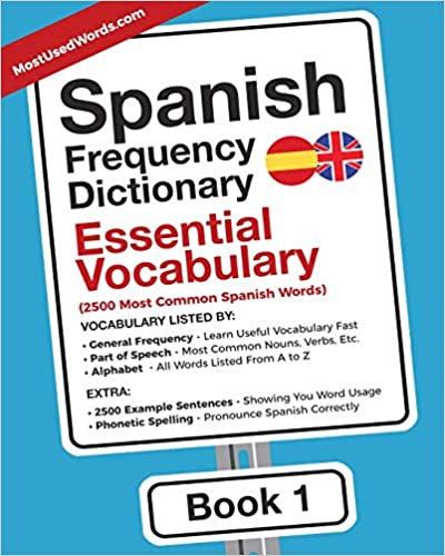 Amazon com: Spanish Frequency Dictionary - Essential