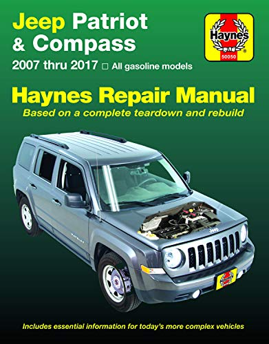 Jeep Patriot & Compass (07-17) Haynes Repair Manual (Does not include information specific to diesel engine models. Includes thorough vehicle coverage ... exclusion noted.) (Haynes Automotive)