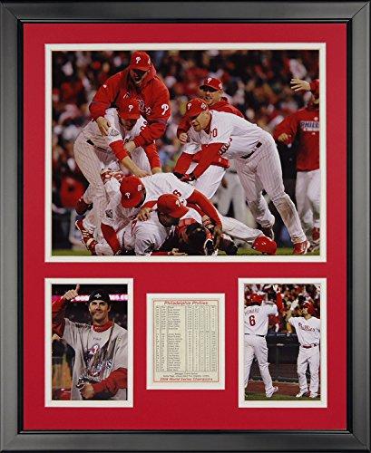 - Legends Never Die 2008 Philadelphia Phillies Framed Photo Collage, 16