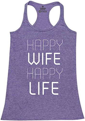 Shop4Ever%C2%AE Happy Womens Racerback Marriage product image