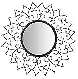 LuLu Decor, Web Wall Mirror, Decorative Metal Wall Mirror, Frame Size 25.50'' (Mirror)
