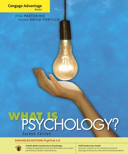 Cengage Advantage Books: What is Psychology? PsykTrek 3.0 Enhanced Edition, Media Version (with Student User Guide and P