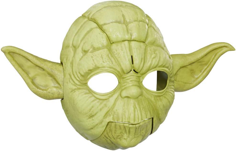 Hasbro Star Wars Máscara Electrónica Yoda, multicolor (E0329)