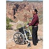 Walk'n'Chair Walker/Wheelchair Combo : Black