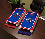 Victory Tailgate Philadelphia Sixers 76ers NBA Basketball Desktop Cornhole Game Set Border Version